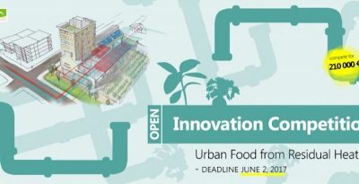 Innovation Competition: urban food from residual (and geothermal) heat