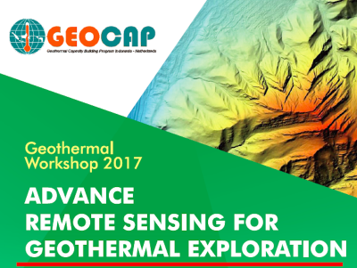 Workshop: Advanced Remote Sensing for geothermal exploration, Yogyakarta – July 24-28, 2017