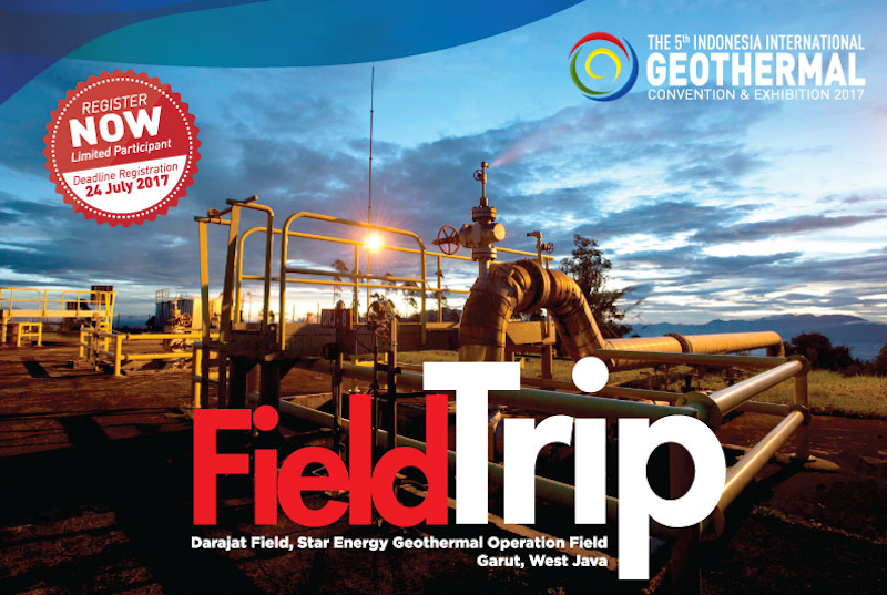 Indonesia Intl Geothermal Conference – Darajat Field Trip – 4-5 August 207
