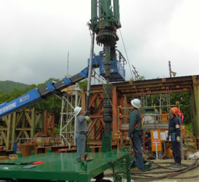 TNG performs 400th rig-less geothermal wellhead repair