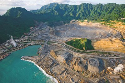 Australian interest in mining and the geothermal potential of Papua New Guinea
