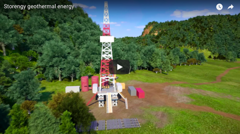 Great video on geothermal energy and heating by Storengy