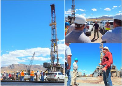 Site visit at the FORGE EGS geothermal research project site in Utah