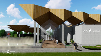New luxury geothermal spa being developed in Rotorua, New Zealand