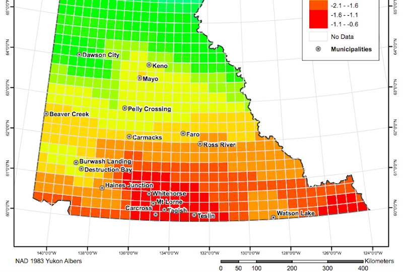 Canadian National Geothermal Database and Territorial Resource Estimate Maps