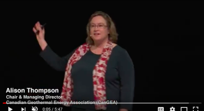 Video: Alison Thompson/ CanGEA on Geothermal Heat from Oil & Gas wells