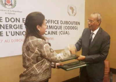 African Union signs contract for $1 million GRMF grant to geothermal project in Djibouti