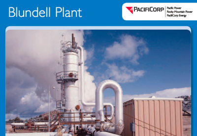 Job: Manager, Geothermal Plant, PacifiCorp – Milford, UT