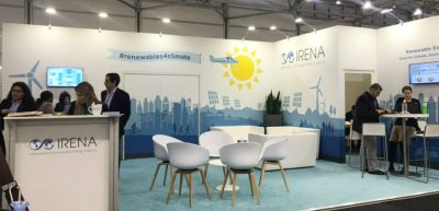 COP23 – IRENA high-level roundtable on role of geothermal, 16 Nov. 2017