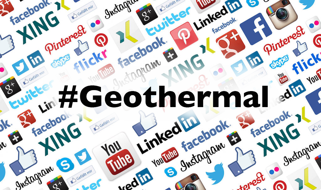 Geothermal Champions – Your help required with a short Social Media Usage Survey
