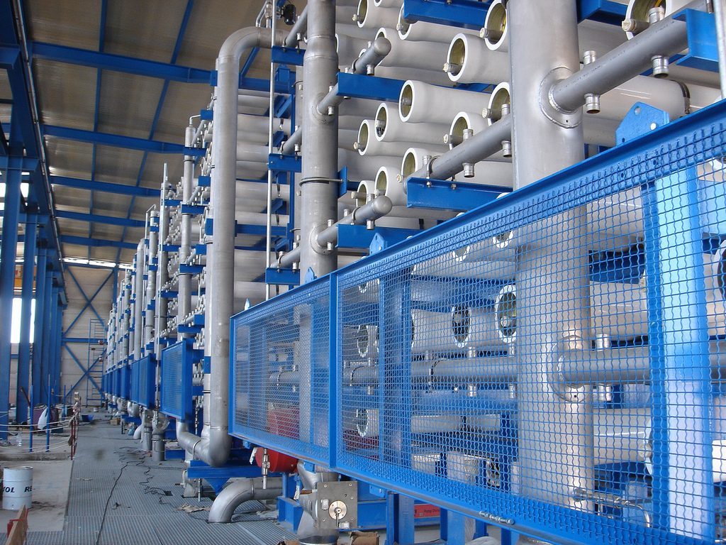 The Middle East is exploring solar and geothermal energy for desalination
