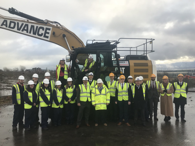 Urban regeneration project including geothermal district heating system kicked off in Scotland