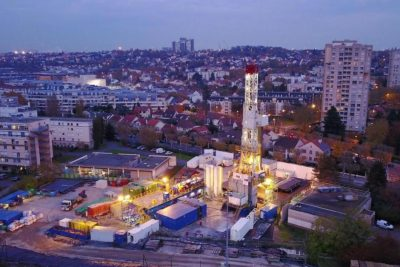 Geothermal project near Paris successfully completes 2nd subhorizontal well