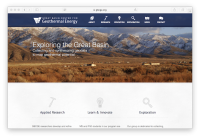 PhD Opportunity – Geothermal Energy, Great Basin Center for Geothermal, Reno/ Nevada