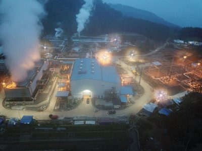 Final tests of new 30 MW Karaha Bodas geothermal plant in Indonesia