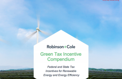 Current Federal and State Tax Incentives for Renewable Energy in the U.S.