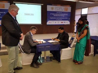 Iceland and India sign new agreement on geothermal cooperation