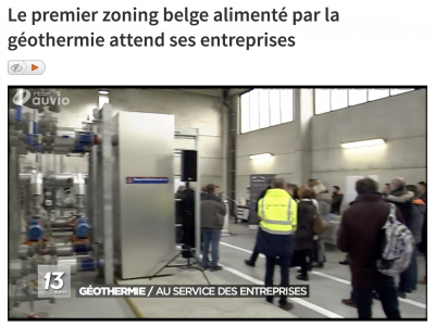New geothermal heating project starts operation in Mons, Belgium