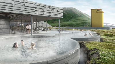 New geothermal sea bath to open in Húsavík in the North of Iceland this year