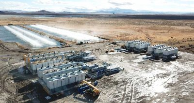 4.4 MW Wabuska geothermal power plant in Nevada started operation