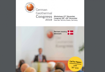 Der Geothermiekongress/ German Geothermal Congress 2018 – Nov. 27-29, 2018, Essen