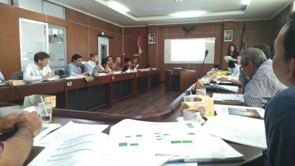 Work on classification on geothermal resources on Flores Island
