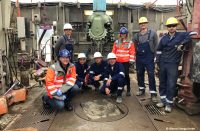 Second well successfully drilled for Garching a.d. Alz geothermal project, Bavaria/ Germany