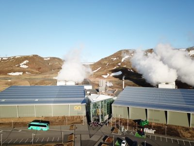 50% heating production capacity increase at Hellisheidi geothermal plant, Iceland