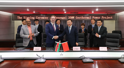 Sosian Energy signs EPC contract with Chinese firm for geothermal project at Menengai
