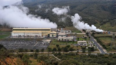 Attractive opportunity of industrial park next to Olkaria geothermal plants, Kenya