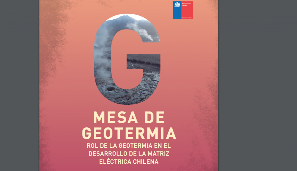 Industry-government collaboration releases report on geothermal in Chile's electricity matrix