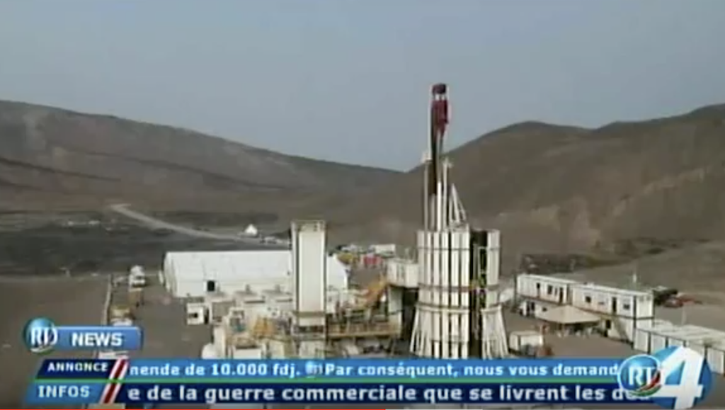 Video report from drilling start at Fiale geothermal project in Djibouti