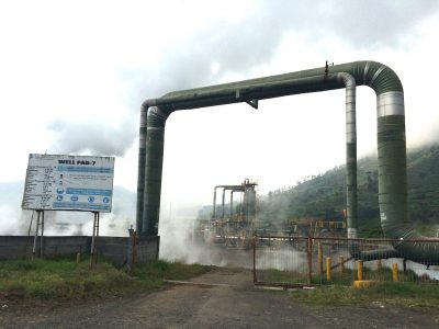 Construction of 10 MW Dieng small-scale geothermal plant progressing in Indonesia