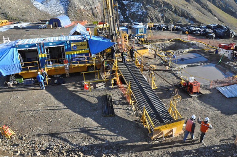 EDC looking at further geothermal opportunities in Chile and Peru