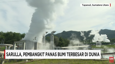 Video report from the Sarulla Geothermal Power Plant, Indonesia