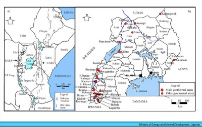 Three private groups with geothermal licenses in Uganda
