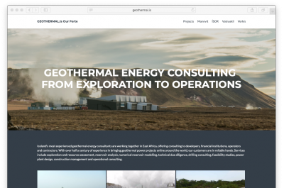 Geothermal.is – Icelandic collaboration breaking new ground for geothermal consulting