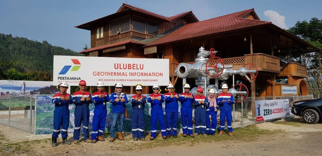 Pertamina has inaugurated a new Geothermal Information Center at Ulubelu, Indonesia
