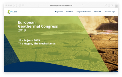European Geothermal Congress 2019 – Showcase your company