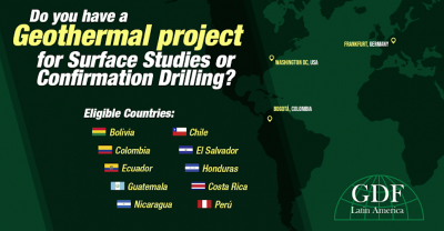 Preregister for 3rd Call under Latin America Geothermal Development Facility