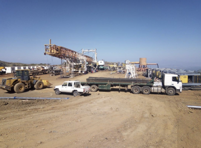 Rig up started by GDC at Baringo-Silali geothermal project in Kenya