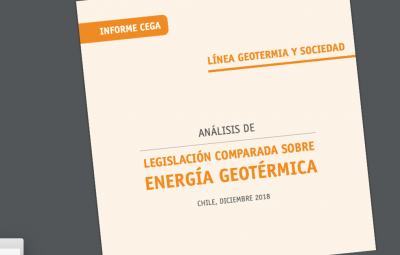 CEGA Report and recommendations on geothermal energy legislation in Chile