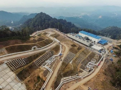 55 MW Lumut Balai geothermal power plant online in Indonesia