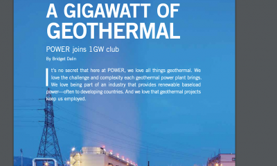 1,000+ MW of geothermal power generation capacity – the story of POWER Engineers
