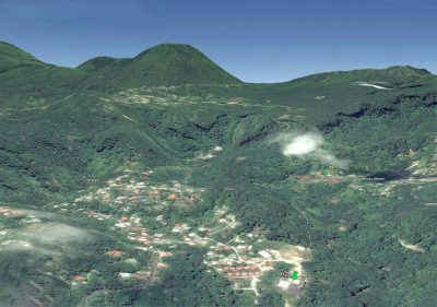 Well tests to prepare for work on geothermal plant in Dominica, Caribbean