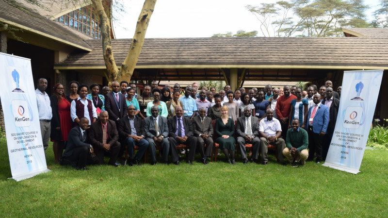 Kenya: Short course on Exploration and Development of Geothermal Resources, Nov. 2019