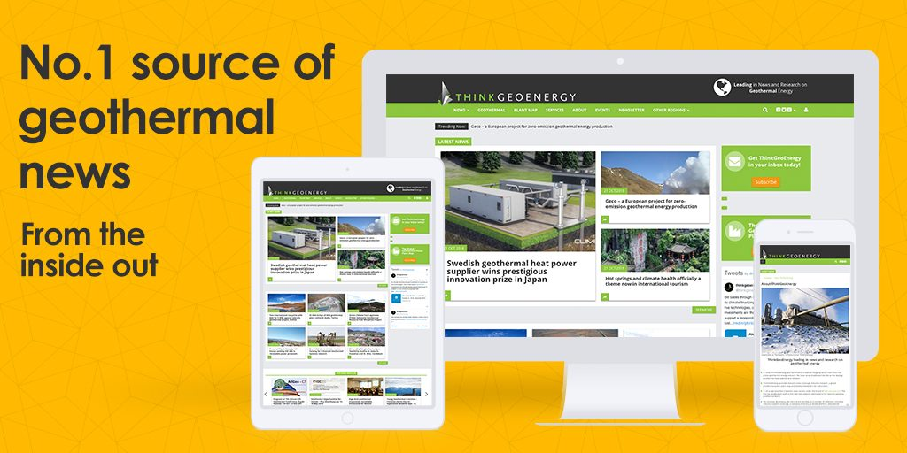 Sign up for our newsletter – the No.1 source of global geothermal news