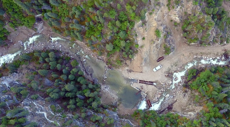 Drone-based geothermal exploration survey done in British Columbia, Canada