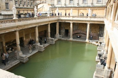 Geothermal hot springs used in Roman times could heat Bath Abbey, England