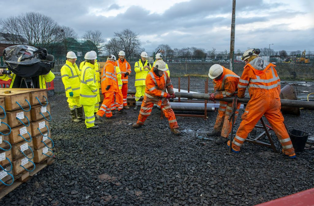 Innovative project in Glasgow to drill 12 wells exploring mine water for geothermal heating